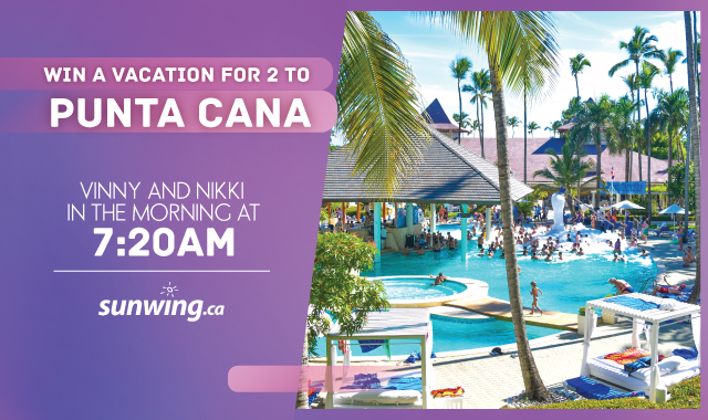WIN a trip for 2 to PUNTA CANA
