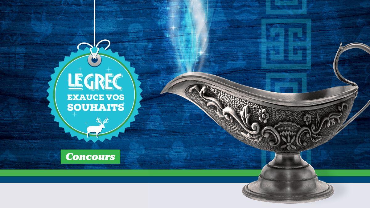 Le Grec exauce vos souhaits !